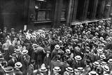 Closing of the Stock Exchange in London at the Start of WWI Photographic Print