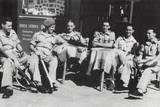 Off Duty British Soldiers on the Esplanade - Tel Aviv, Israel Photographic Print