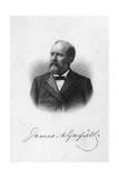President Garfield Giclee Print