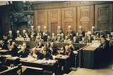 Nuremberg Defendents Photographic Print