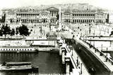 Paris, France - Place de La Concorde Photographic Print