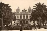 Monte Carlo Casino Papier Photo