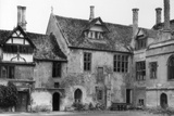 Lacock Abbey Courtyard Photographic Print