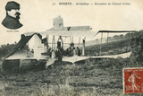 Cody Biplane 1909 Photographic Print