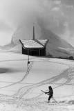 Skiing in Switzerland Photographic Print