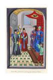 Court of Van Artevelde Giclee Print