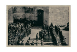 Awaiting Allenby, Jaffa Gate, Jerusalem Photographic Print