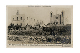 Church and Schools at Ramallah, Palestine Photographic Print