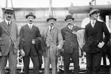 England Polo Team Arrive in the USA, 1914 Photographic Print
