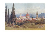 Florence, Distant View Giclee Print