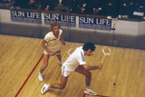 Game of Squash Photographic Print