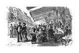 Paris, France - Grands Boulevards - Montmartre Giclee Print