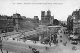 Paris, Notre Dame, Michel Photographic Print