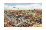 Chicago Business District Giclee Print