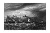Atlantic Saint Helena Giclee Print