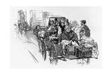 Immigrants in New York Giclee Print