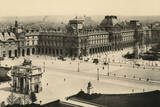 Paris Louvre C19 Photographic Print