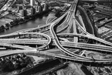 Spaghetti Junction Fotografie-Druck