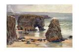 Marsden Rocks, Durham Giclee Print