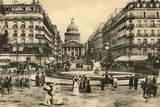 Paris Pantheon Photographic Print