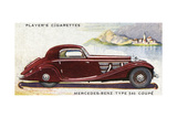 Mercedes Benz Coupe Giclee Print