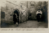 Entrance to Tomb of David, Jerusalem Photographic Print