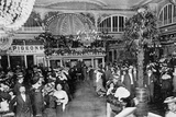 Paris Dance Hall 1898 Photographic Print