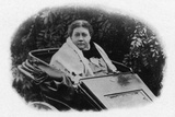 Blavatsky in Wheelchair Photographic Print