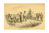 The Grape Harvest, Medoc Giclee Print