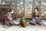 Japanese Tea Ceremony Photographic Print