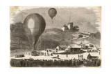 Ballon-Poste 1871 Giclee Print