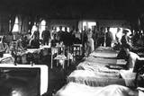WW1 - British Military Hospital Ward Photographic Print