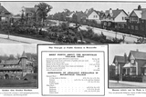 Bournville Houses 1905 Photographic Print