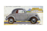 Fiat 500 Giclee Print
