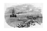 Great Eastern Entering Holyhead Harbour, 1859 Giclee Print
