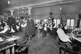 Barber Shop Montmartre Photographic Print