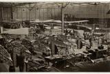 Manufacture Avro 504 Biplanes WWI Photographic Print