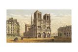 Paris, Notre Dame C1855 Giclee Print