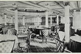 Dining Saloon of the 'Lusitania' Photographic Print