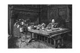 Emile Zola in His Study Giclee Print