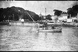 Bordeaux Net Fishing Photographic Print