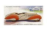 Delahaye Coupe Giclee Print