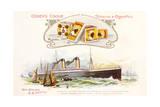 Oceanic Steamship Giclee Print