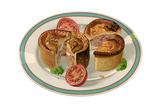 Pork Pie on a Plate Giclee Print