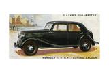 Renault Saloon Giclee Print