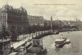 Thames Embankment Photographic Print