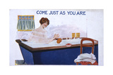 Bathing, Just as You Are Giclee Print