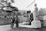 Pearly King Grave Photographic Print