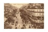 Paris, Boulevard Montmart Giclee Print
