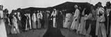 King Faisal I of Iraq Among the Dulaim Photographic Print